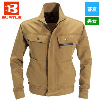 バートル 8061 ヴィンテージライトチノ長袖ジャケット