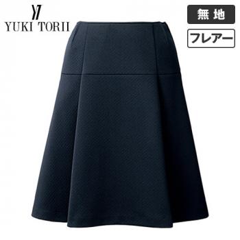 [在庫限り/返品交換不可]YT3913 ユキトリイ [秋冬用]フレアースカート ニット 無地