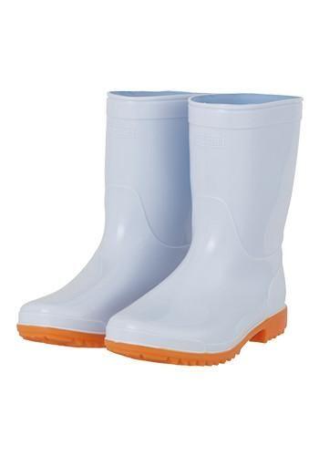 安全靴 PVC長靴ショート 女性用サイズ