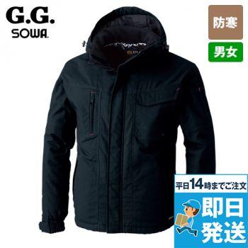 6004-00 桑和 長袖防寒ブルゾン