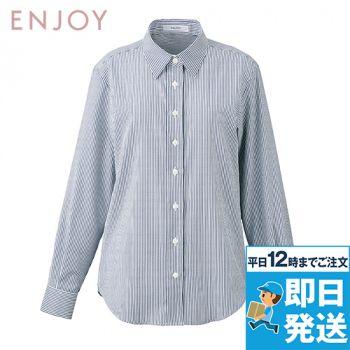 EWB804 enjoy シャツブラウス(長袖)