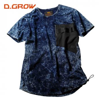 デニムニット 半袖Tシャツ