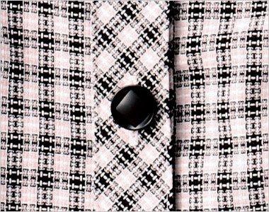 内側にダイヤマークのある黒ボタン