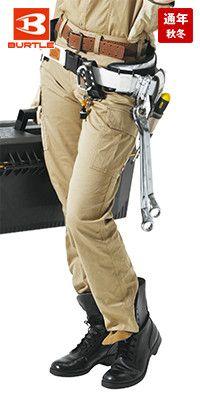 バートル 6099 [秋冬用]制電ソフトツイルレディースカーゴパンツ(女性用)