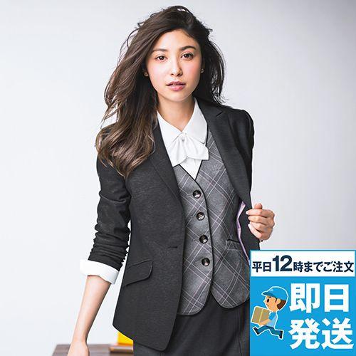 EAJ586 enjoy [通年]ジャケット 無地