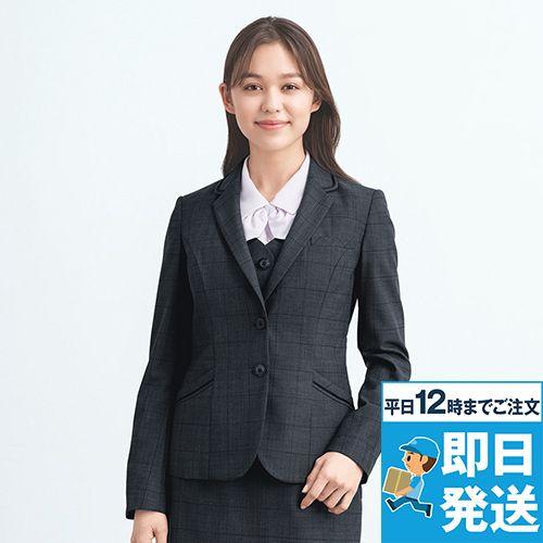 EAJ757 enjoy [通年]ジャケット[ストレッチ/チェック]