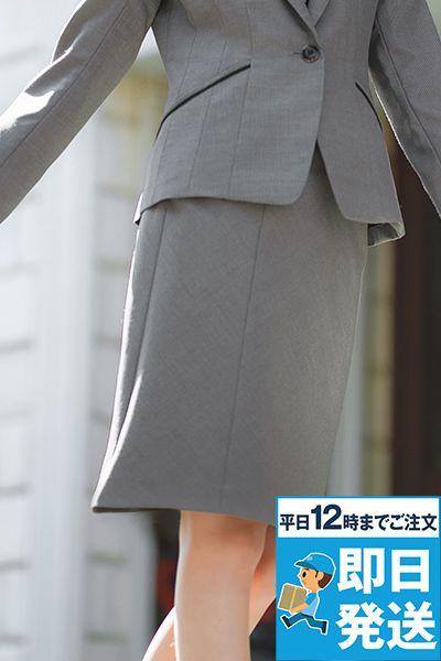 EAS583 enjoy [通年]セミタイトスカート ドット