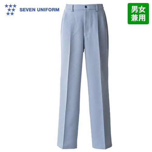WL1471 セブンユニフォーム 千鳥格子パンツ(男女兼用)