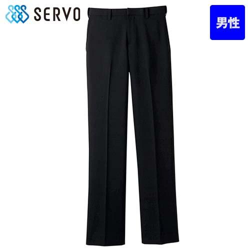 FP-5431 Servo(サーヴォ) ストレッチ黒パンツ(男性用)/股下フリー