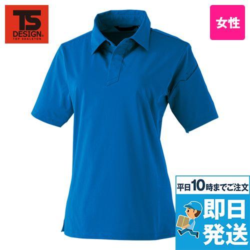 TS DESIGN 910551 [通年]TS 4Dレディースショートポロシャツ