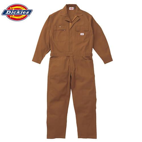 ディッキーズ 綿100%長袖ツナギ