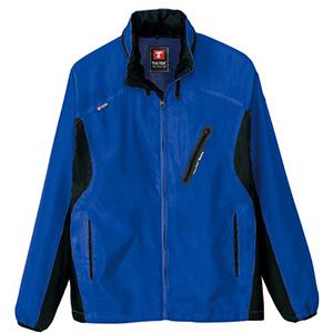 フードインジャケット ブルー