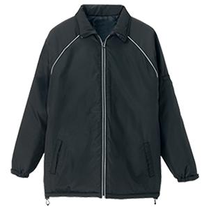 リフレクト中綿ジャケット ブラック