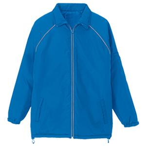 リフレクト中綿ジャケット ブルー