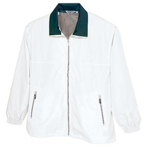 裏メッシュカラージャケット ホワイト