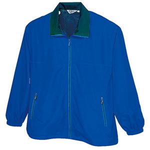 裏メッシュカラージャケット ブルー
