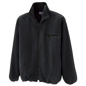 フリースジャケット ブラック