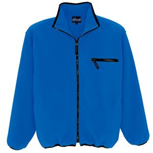 フリースジャケット ブルー