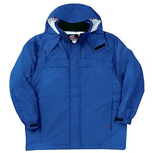 防水防寒コート ブルー