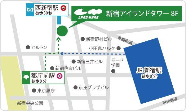 最寄り駅からの地図