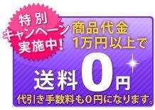 商品代金9,000円(税抜)以上で送料0円