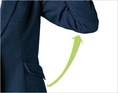 独自のパターンで腕の動きがラクラクなフレックススリーブ(R)ll