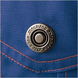 ロゴ入りドットボタン