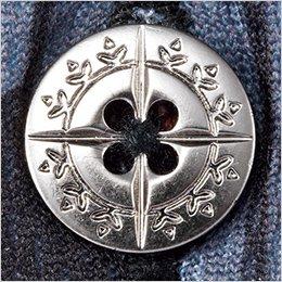 メタル調デザインボタン