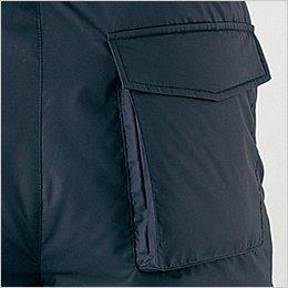 右後ろマチ付きポケット