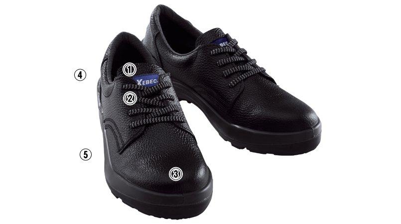 ジーベック 85021安全短靴 先芯入り(JIS T8101対応)のこだわりポイント