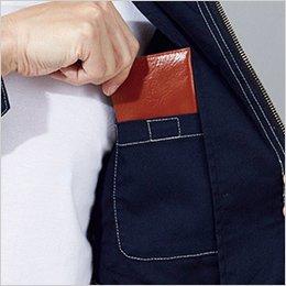 左内側 ポケット