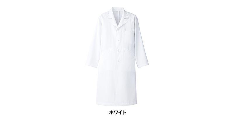 861311 アイトス/ルミエール ドクターコート(男性用)セミピーク型診察衣 色展開