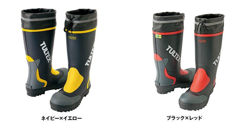 AZ4702 アイトス タルテックス 安全ゴム長靴 スチール先芯 色展開
