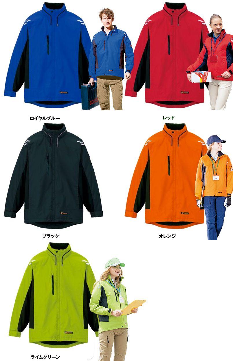 アイトス AZ6169 光電子防風防寒ジャケット(フードイン)(男女兼用) 色展開