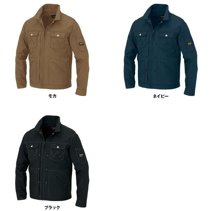 AZ64201 アイトス Wrangler(ラングラー) ジップアップジャケット(男女兼用) 色展開