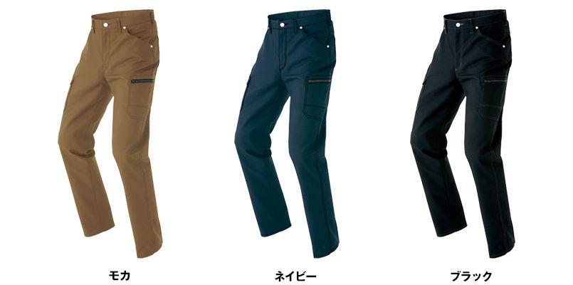 AZ64221 アイトス Wrangler(ラングラー) ノータックカーゴパンツ(男女兼用) 色展開