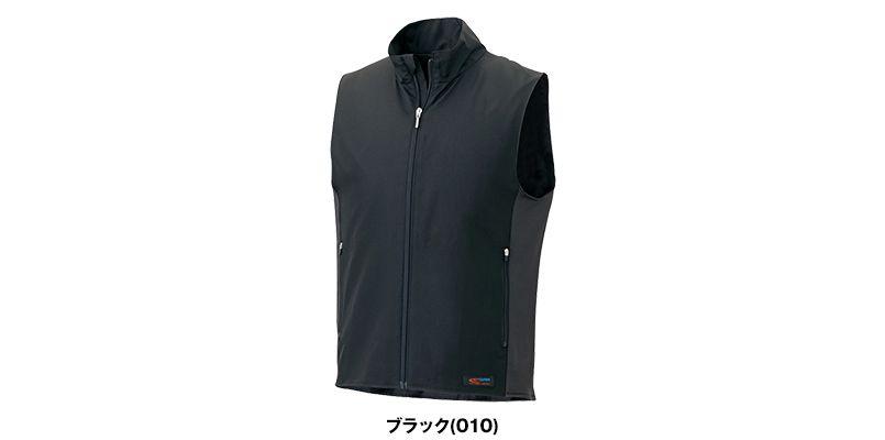 アイトス AZ8302 [秋冬用]HOTOPIA(ホットピア) 襟付きベスト 色展開
