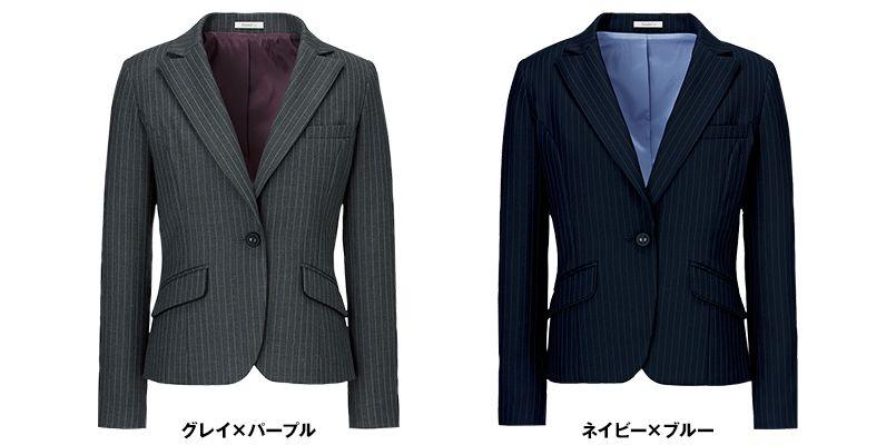 BONMAX AJ0237 ベガ 5つの優れた機能付き!寒色系のピンストライプのジャケット 色展開