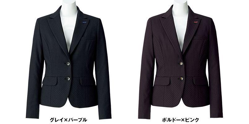 BONMAX AJ0247 [通年]オピニオン ストライプジャケット 色展開
