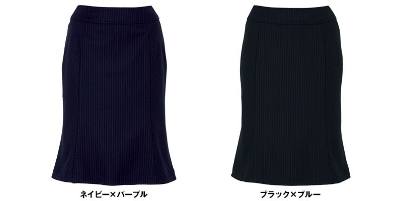 [在庫限り/返品交換不可]BONMAX AS2243 [通年]アウトラストI マーメイドスカート ストライプ[温度調整機能付] 色展開