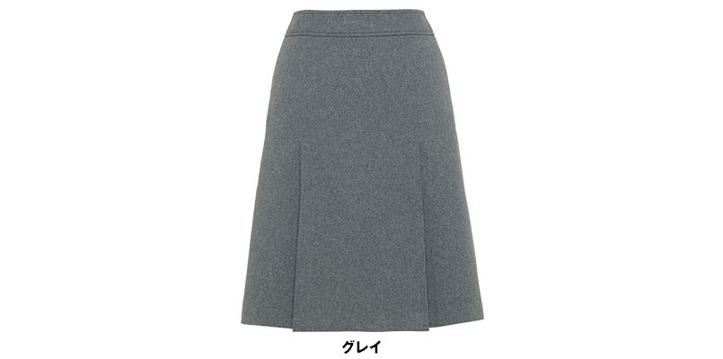 BONMAX AS2265 [通年]アドレ プリーツスカート 無地 色展開