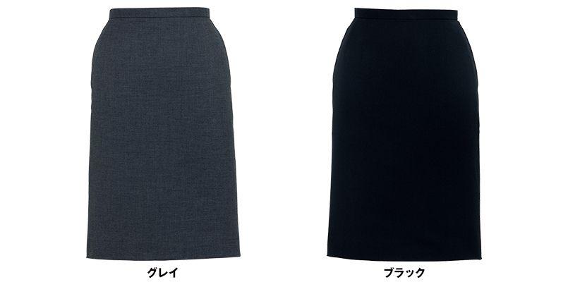 BONMAX AS2268 [通年]セゾン 消臭加工剤が不快なニオイを消臭するタイトスカート 無地 色展開