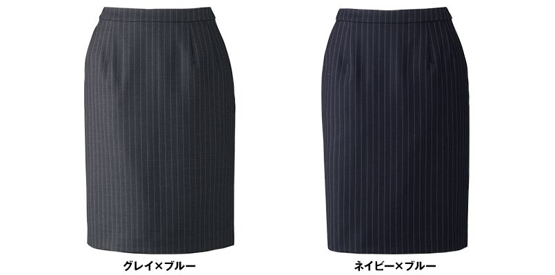 BONMAX AS2283 [通年]プログレス タイトスカート ストライプ[温度調整機能素材] 色展開