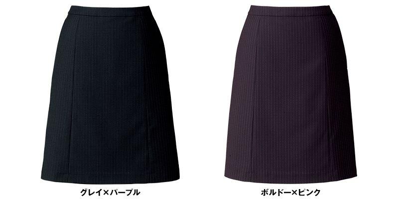 BONMAX AS2286 [通年]オピニオン Aラインスカート ストライプ 色展開