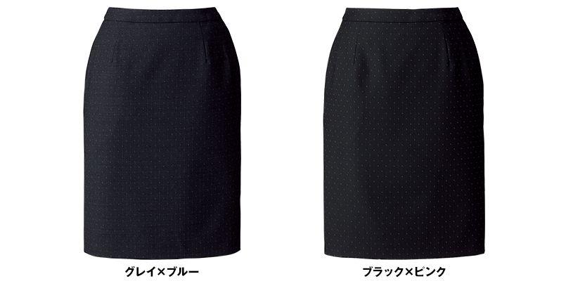BONMAX AS2289 [通年]ディライト タイトスカート ドット 色展開