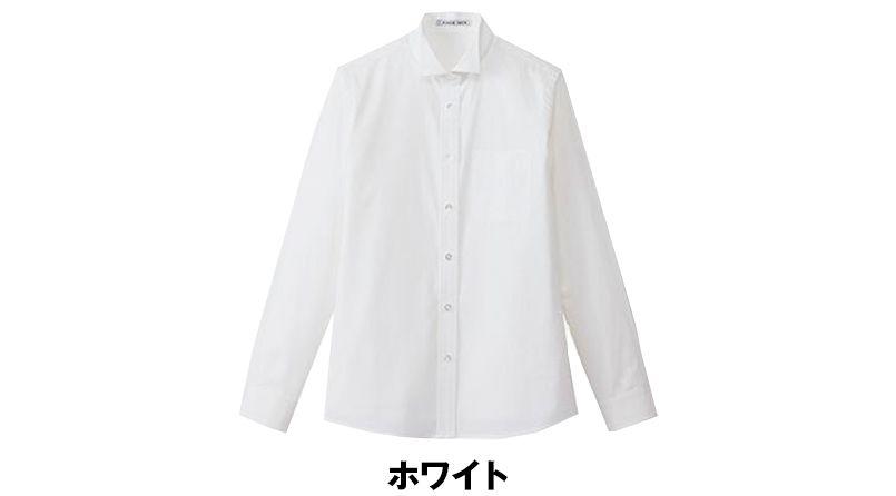 FB4025L FACEMIX ウイングカラーブラウス/長袖(女性用) 色展開