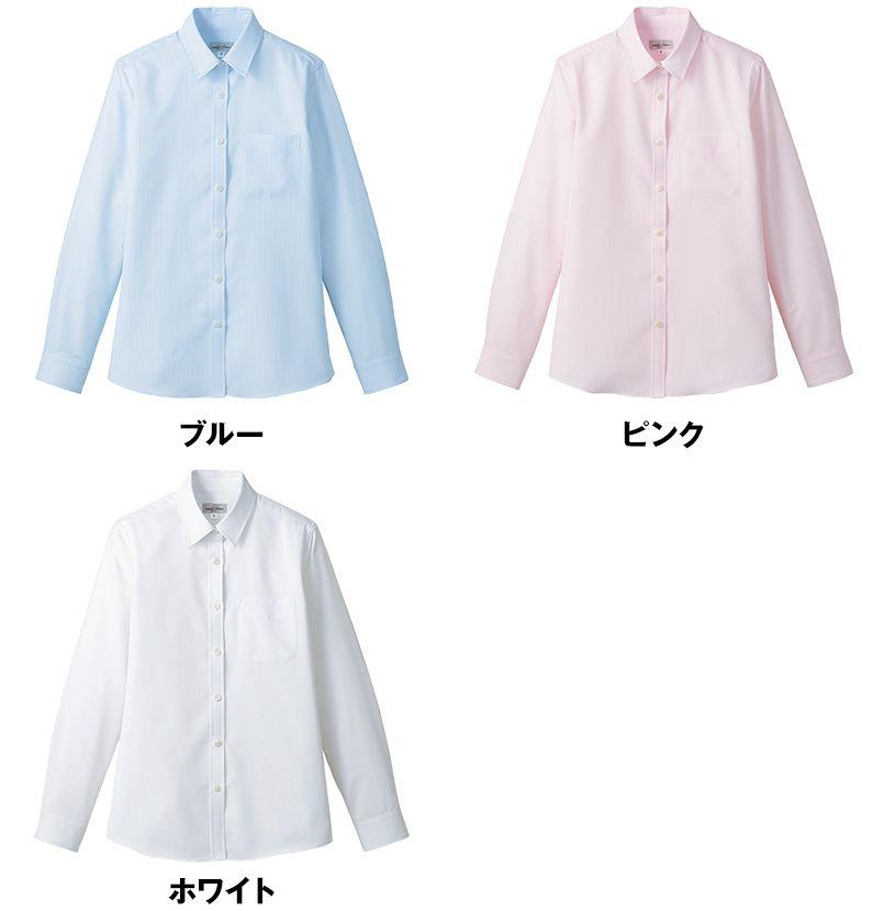 FB4030L FACEMIX 吸水速乾ブラウス/長袖(女性用) 色展開