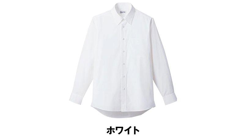 FB4534U FACEMIX レギュラーカラーブロードシャツ/長袖(男女兼用) 色展開