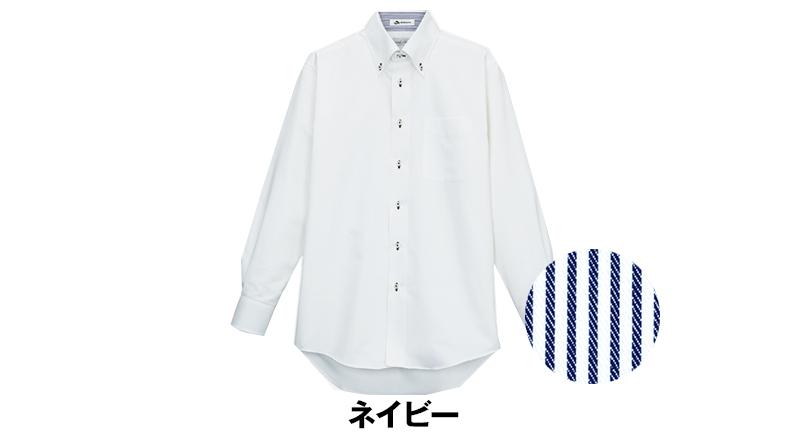 FB5010M FACEMIX 吸汗速乾シャツ/長袖(男性用)ボタンダウン 色展開