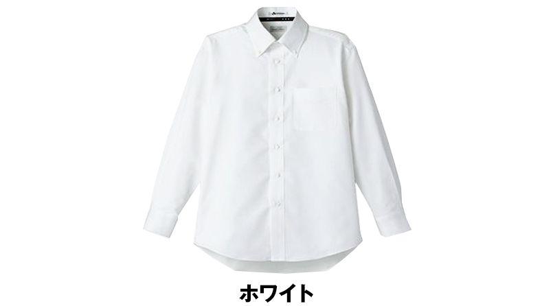 [在庫限り/返品交換不可]FB5014M FACEMIX 吸汗速乾シャツ/長袖(男性用)ボタンダウン 色展開